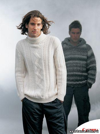 свитера крупной вязки